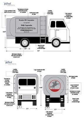 Truck Design Drawing