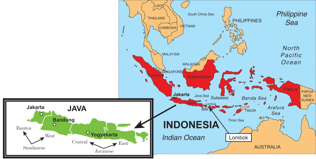 Indonesian Map Travels