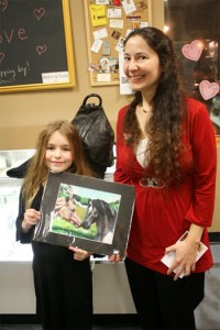 Photograph of Deanna Yildiz with satisfied client Anastasia
