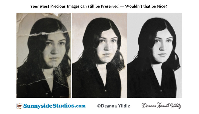 Restoring a Destroyed Image