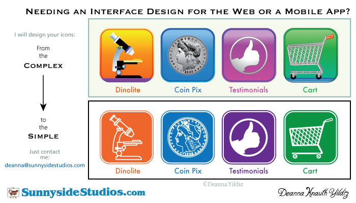 Web Interface Graphic Design