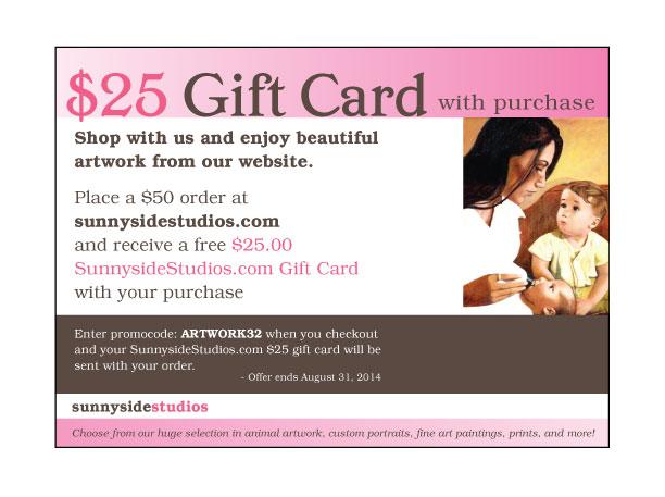 gift coupon ad